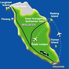 Malaysia Beach Resorts Map Berjaya Redang Beach and Spa Resort, Terengganu   Malaysia